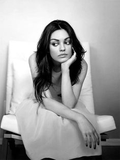 Ravageuses wait. | Mila Kunis by Emily Shur