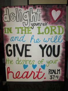 Canvas Paintings of Bible Verses