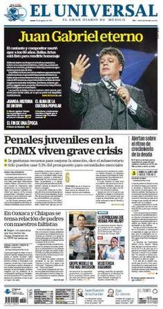Sitio líder de noticias minuto x minuto de México y el mundo, con información…