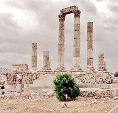 Temple of Hercules, Amman (ancient Philadelphia), Jordan