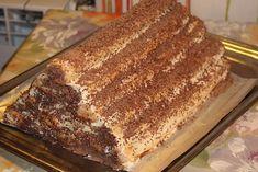 Tort fără coacere, gata în doar 5 minute! Simplu dar foarte gustos! - Bucatarul Russian Cakes, Holiday Dinner, Winter Holidays, Tiramisu, Banana Bread, French Toast, Menu, Breakfast, Ethnic Recipes