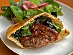 Dinner Tonight: Lamb Burgers with Red Onion Relish   Serious Eats : Recipes