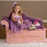 Found it at Wayfair - Princess Painting Kid's Chaise Lounge