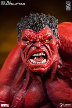 Red Hulk | Premium Format Figure | Quarter Scale | Sideshow Collectibles | JCG