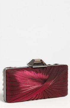 Sondra Roberts Pleated Clutch available at #Nordstrom...One of each color please!  I'm loving the jewel tones for fall!