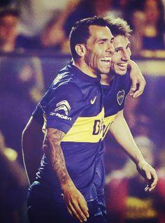 Boca Juniors - Carlitos y Calleri