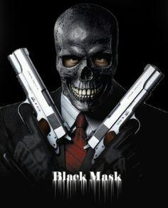 Black Mask by Harmoniak on DeviantArt Dc Comics Superheroes, Dc Comics Characters, Dc Comics Art, Batman Comics, Gotham Villains, Comic Villains, Marvel E Dc, Marvel Heroes, Black Mask Batman