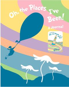 Penguin Random House Oh, the Places I've Been! Journal #affiliate