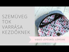 Hogy miért készült el mégis ennek a videós változata? Vannak, akiknek még ez is nehézséget okoz és jobban tudnak mozgó képek alapján tanulni. Kezdőként nehezebb egy-egy mozdulatot elképzelni, jobban megmarad ha láthatóvá válnak a lépések. Louis Vuitton Damier, Sewing, Pattern, Blog, Youtube, Decor, Dressmaking, Decoration, Couture