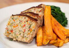healthy eating, blt quinoa meatloaf