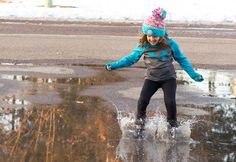 Everyday Life Lessons — Embracing Puddle Jumping