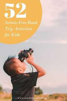 52 fun and car-friendly activities for kids of all ages––that don't require screens while you're on the road! Road Trip Activities, Activities For Kids, Making Connections, Family Road Trips, Free Ebooks, Screens, About Me Blog, Memories, Car