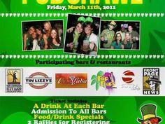 Luck of the Irish St. Patty's Day Pub Crawls San Diego