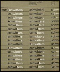 Walter Breker, Kurt Schwitters, Städtische Kunsthalle, Düsseldorf, 1971  (on the way of foxduo)