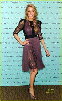 Blake Lively: Tiffany & Co. Eyewear Launch!