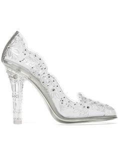 Dolce & Gabbana Embellished Clear Pumps - Julian Fashion - Farfetch.com