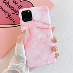 Purple Pink Marble iPhone Case - For iphone 7 or 8 / 0889 1