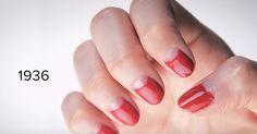 Watch 100 years of manicure trends.