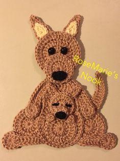 Crochet Applique Patterns Free, Baby Applique, Animal Knitting Patterns, Stuffed Animal Patterns, Crochet Motif, Crochet Designs, Crochet Stitches, Knit Crochet, Love Crochet