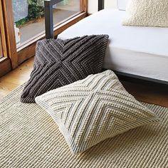 chevron floor cushion