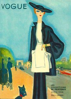 Eduardo Benito; Vogue Paris, avril 1934.
