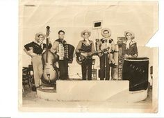 Tex Butler and his band 1952