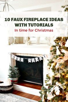 Build a Faux Firepla