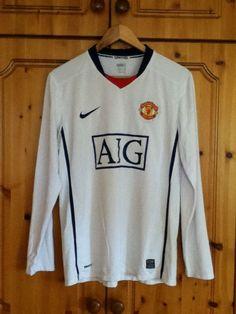 Manchester United Football Club Away Jersey 2008 - 2009 Medium Adult Nike  2010. Kyle de Burca · Favourite Soccer Jerseys 489f713d0