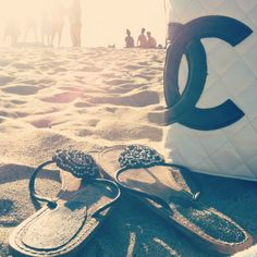 Chanel and beach two of my favorite things!
