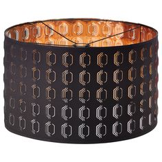 NYMÖ Lamp shade - IKEA. Love the copper color inside the shade