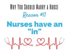 12 Fantastic Reasons Why You Should #Marry a #Nurse