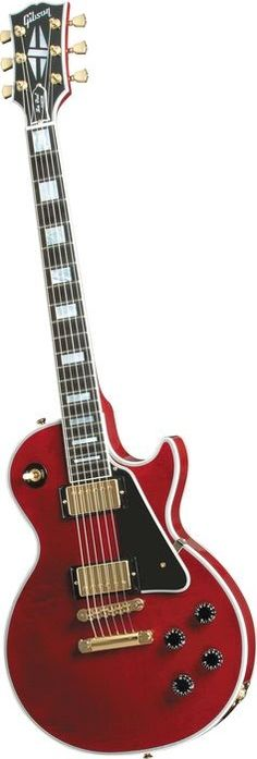 Gibson Custom Les Paul Custom Electric Guitar Wine Red (via Musician's Friend)