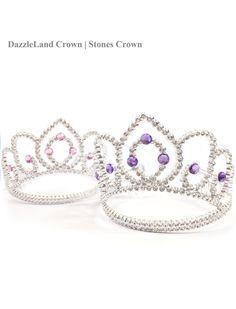 Gems tiara crown// Hair accessory// Princess crown// by DazzleLand