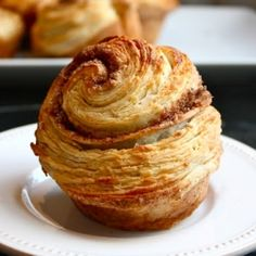 This pastry pulls apart into delicate, fluffy layers full of cinnamon sugar.will have to try this one.