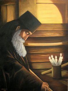 Quadro Pintura by Jorge Marcovich Devoção 80x60 Devotion Oil Painting