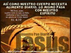La Biblia La Palabra De Dios Para Hoy: El pan diario de la palabra-Filipenses-4-19-http:/...