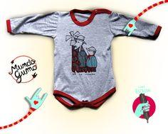 Ilustraciòn de Don Quijote de la Mancha para bodys de bebe.  Indumentaria para niños.