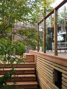 Terassiprojektia 2016 | Tohkeissaan Garden Bridge, Outdoor Structures, Cabin, Plants, Home, Design, Dreams, Cottage, Planters