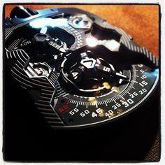 Urwerk UR-1001 Perpetual Calendar Pocket Watch.