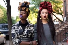 Headwrap company Fanm Djanm is the brainchild of Haitian-American style blogger Paola Mathe. The company's most recent editorial, shot by Joey Rosado, is a celebration of black multi-generationality and the enduring beauty of head wraps. Check out the gorgeous images below.