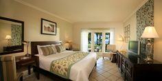 Discover Sugar Beach, A Sun Resort, Mauritius. A plantation-style hotel on the west coast. Cheap Beach Vacations, Les Continents, Beach Hotels, Mauritius, Sugar, Islands, Room, Tropical, Adventure