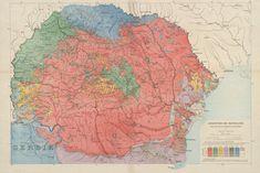 Ethnic map of Romania Century, Europe, Romania) Alternate History, Old Maps, Beach Trip, Beach Travel, Historical Maps, Culture Travel, History Facts, Romantic Travel, Outdoor Travel