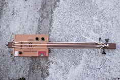 Cigar Box Ukulele Bass | Wohohoho - un blog avec un goût de Norvège