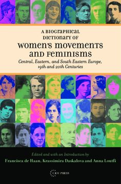 Project MUSE - Biographical Dictionary of Women's Movements and Feminisms Eastern Europe, Feminism, Muse, Pdf, Women, Biography, Woman