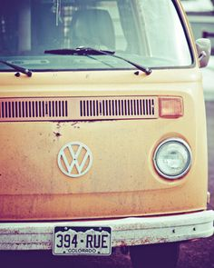 Officially called the 'Volkswagen Type the roomy VW bus/van can make you feel like going on a long road trip, camping and beach bumming the entire way. Although it's a famous icon for hippies and surfers, it's really a nostalgic vehicle for everyone. Vintage Volkswagen Bus, Volkswagon Van, Volkswagen Transporter, Vw T1, Volkswagen Golf, My Dream Car, Dream Cars, Dream Big, Combi Vw T2