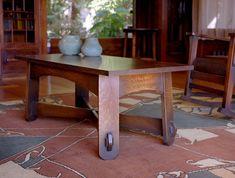 Splay Leg Coffee Table