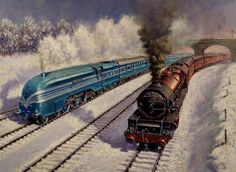 Winter on the LMS