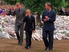 princess diana funeral photos | Royals 'wanted William and Harry in Princess Diana funeral cortege in ...