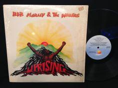 BOB MARLEY & THE WAILERS - UPRISING Original 1980 LP Vinyl Record In-Shrink