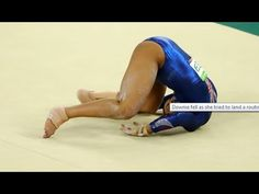 Team GB's Ellie Downie Falls on NECK During Gym Routine in Rio Olympics